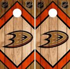 Anaheim Ducks Cornhole Wrap NHL Game Board Skin Set Vinyl Decal CO172 $39.95 USD on eBay
