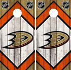 Anaheim Ducks Cornhole Wrap NHL Vintage Game Board Skin Set Vinyl Decal CO174 $59.95 USD on eBay