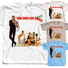 You only live twice James Bond T-SHIRT (WHITE,NATURAL) all sizes S to 5XL $23.38 CAD on eBay