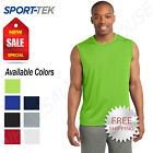 Sport Tek Mens Sleeveless Dri Fit Moisture Wicking Muscle T Shirt M ST352