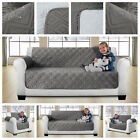 New Quilted Sofa Protector Throws Pet Protector Reversible Sofa Slip Covers