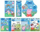 Peppa Pig Colouring and Activity Play Sets - Crayons Painting Stickers Kids Toys