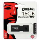 Kingston 256GB 128GB 64GB 32GB 16GB DT 100 G3 Flash USB 3.0 Drive 100MBs OTG Lot