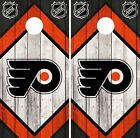 Philadelphia Flyers Cornhole Wrap NHL Game Board Skin Set Vinyl Decal Art CO255 $39.95 USD on eBay