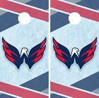 Washington Capitals Cornhole Wrap NHL Hockey Game Skin Set Vinyl Decal CO265 $39.95 USD on eBay
