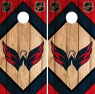 Washington Capitals Cornhole Wrap NHL Game Board Skin Set Vinyl Decal CO266 $39.95 USD on eBay