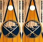 Buffalo Sabres Cornhole Wrap NHL Game Board Skin Set Vinyl Decal Decor CO284 $39.95 USD on eBay