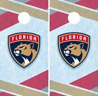 Florida Panthers Cornhole Wrap NHL Hockey Game Board Skin Set Vinyl Decal CO292 $39.95 USD on eBay
