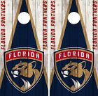 Florida Panthers Cornhole Wrap NHL Wood Game Board Skin Set Vinyl Decal CO294 $39.95 USD on eBay