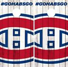 Montreal Canadiens Cornhole Wrap NHL Logo Game Board Skin Set Vinyl Decal CO305 $59.95 USD on eBay