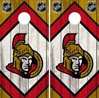 Ottawa Senators Cornhole Wrap NHL Game Board Skin Set Vinyl Decal Art CO310 $39.95 USD on eBay