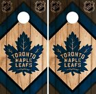 Toronto Maple Leafs Cornhole Wrap NHL Game Board Skin Set Vinyl Decal CO320 $59.95 USD on eBay