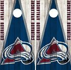 Colorado Avalanche Cornhole Wrap NHL Vintage Game Skin Set Vinyl Decal CO334 $39.95 USD on eBay