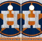 Houston Astros Cornhole Wrap MLB Logo Game Board Skin Set Vinyl Decal CO401 on Ebay