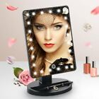 Touch Screen 22 LED Lighted Make Up Mirror with Removable 10x Magnifying Mirror