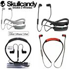 Skullcandy SMOKIN BUDS 2 Wireless Bluetooth Earphones with Mic red white New