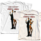 James Bond: A View to a Kill, movie 1985, T-Shirt (WHITE) All sizes S to 5XL $27.37 AUD on eBay
