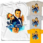 James Bond: Never Say Never Again V3, movie, T-Shirt (WHITE) All sizes S to 5XL $25.38 CAD on eBay