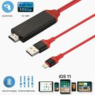 Lightning HDMI Adapter Konventer Kabel für iPhone8 X 6 5 iPad 8Pin HDTV iOS 11.3