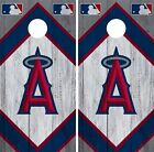 Los Angeles Angels Cornhole Wrap MLB Wood Game Board Skin Set Vinyl Decal CO412 on Ebay