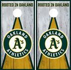 Oakland Athletics Cornhole Wrap MLB Vintage Game Skin Set Vinyl Decal CO429 on Ebay