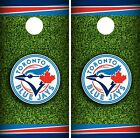 Toronto Blue Jays Cornhole Wrap MLB Field Game Board Skin Set Vinyl Decal CO446 on Ebay