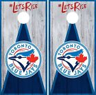 Toronto Blue Jays Cornhole Wrap MLB Vintage Game Skin Set Vinyl Decal CO447 on Ebay