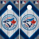 Toronto Blue Jays Cornhole Wrap MLB Wood Game Board Skin Set Vinyl Decal CO448 on Ebay