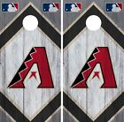 Arizona Diamondbacks Cornhole Wrap MLB Wood Game Skin Set Vinyl Decal CO460 on Ebay