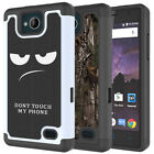 For ZTE Majesty Pro Case Patterned Hybrid Hard Silicone Shockproof Phone Cover
