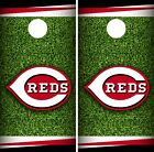 Cincinnati Reds Cornhole Wrap MLB Field Game Board Skin Set Vinyl Decal CO476 on Ebay