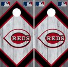 Cincinnati Reds Cornhole Wrap MLB Wood Game Board Skin Set Vinyl Decal CO478 on Ebay