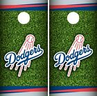 Los Angeles Dodgers Cornhole Wrap MLB Field Game Skin Set Vinyl Decal CO486 on Ebay