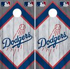 Los Angeles Dodgers Cornhole Wrap MLB Game Board Skin Set Vinyl Decal Art CO488 on Ebay