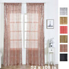 Sequined 52 x 108-Inch Window Drapes Curtains 2 Panels Home Decor Party Wedding