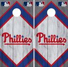 Philadelphia Phillies Cornhole Wrap MLB Wood Game Skin Set Vinyl Decal CO512 on Ebay