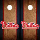 Philadelphia Phillies Cornhole Wrap MLB Game Skin Set Vinyl Decal Art CO513 on Ebay