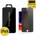 """2-Pack SOINEED Privacy Anti-Spy iPhone 8 4.7"""" Tempered GLASS Screen Protector"""