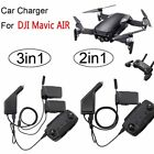 3 in 1 Fast Charging Hub Car Charger Adapter For DJI Mavic Air Battery/Remote S