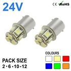 24v Side Light 149 246 R5W R10W 8 SMD BA15s LED Hella Spot Bulbs HGV Truck