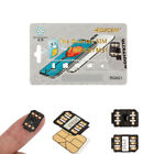 Lot Perfect Unlock Turbo Sim Card For iPhone X 8 7 6S 6 Plus 5S SE 5 Universal
