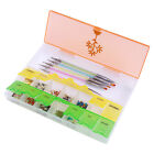 1Pc Nail Tips Decorations Container with Cap Nail Art Tool Box Storage Case DIY