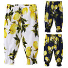 Toddler Kids Baby Girls Loose Casual Pants Leggings Summer Beach Sports Trousers