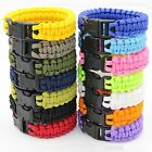 550 Paracord 7 Inner Strands Rope Survival Bracelet Parachute - Camping Hiking