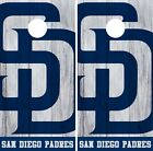 San Diego Padres Cornhole Wrap MLB Game Board Skin Set Vinyl Decal Decor CO526 on Ebay