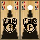 Brooklyn Nets Cornhole Wrap NBA Game Vintage Board Skin Set Vinyl Decal CO563 on eBay
