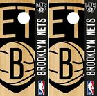 Brooklyn Nets Cornhole Wrap NBA Game Logo Board Skin Set Vinyl Decal CO565 on eBay