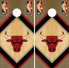 Chicago Bulls Cornhole Wrap NBA Wood Game Skin Board Set Vinyl Decal CO576 on eBay