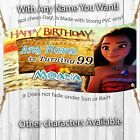 Moana Personalized birthday banner backdrop children party decoration B kid