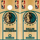 Dallas Mavericks Cornhole Wrap NBA Court Game Board Skin Set Vinyl Decal CO590 on eBay